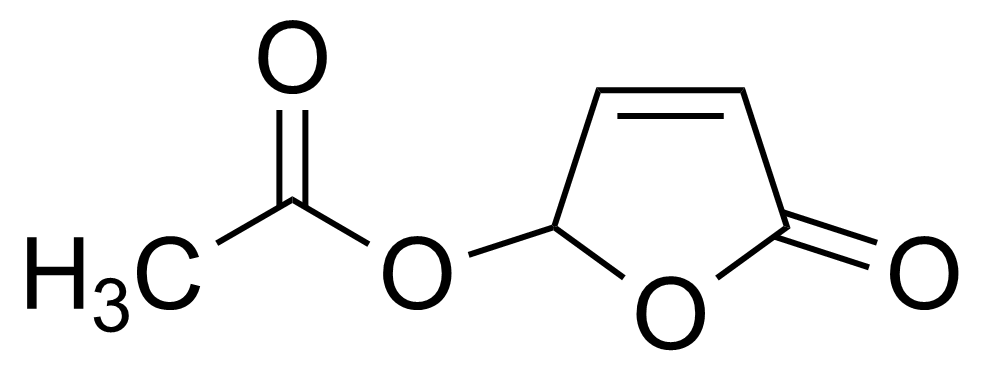 Structure of 5-(Acetyloxy)-2(5H)-furanone
