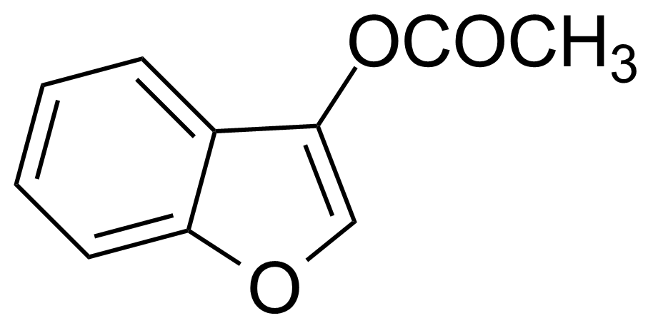 Structure of 3-Acetoxybenzo[b]furan