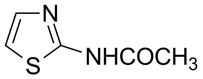 Structure of 2-Acetylaminothiazole
