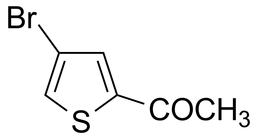 Structure of 2-Acetyl-4-bromothiophene