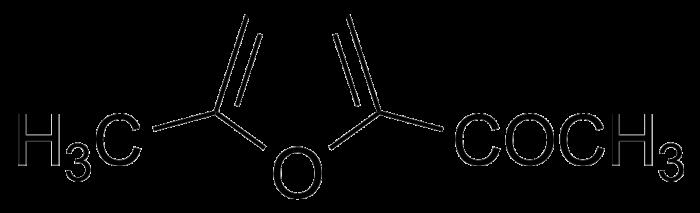 Structure of 2-Acetyl-5-methylfuran