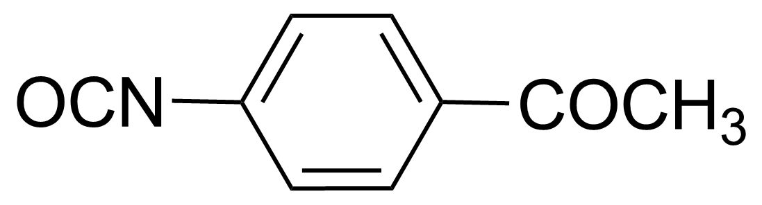 Structure of 4-Acetylphenyl isocyanate