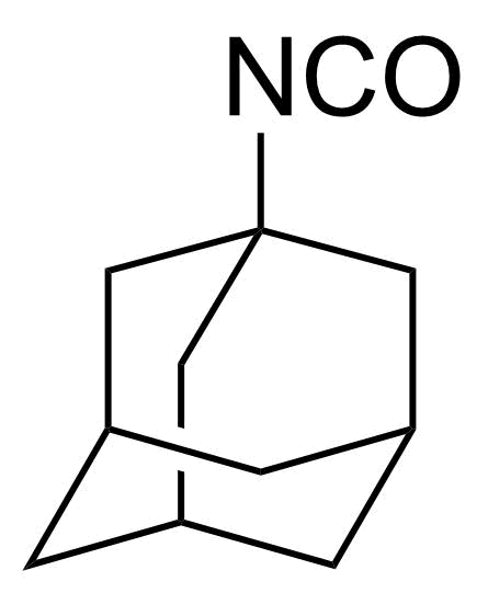 Structure of 1-Adamantyl isocyanate