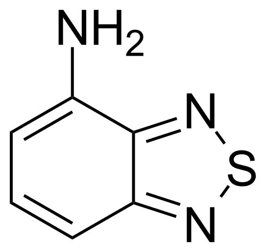 Structure of 4-Amino-2,1,3-benzothiadiazole