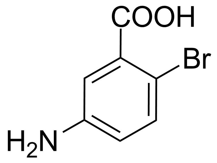 Structure of 5-Amino-2-bromobenzoic acid