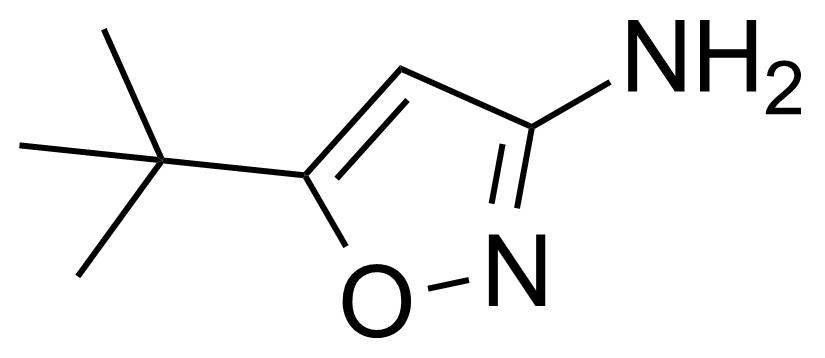 Structure of 3-Amino-5-tert-butylisoxazole