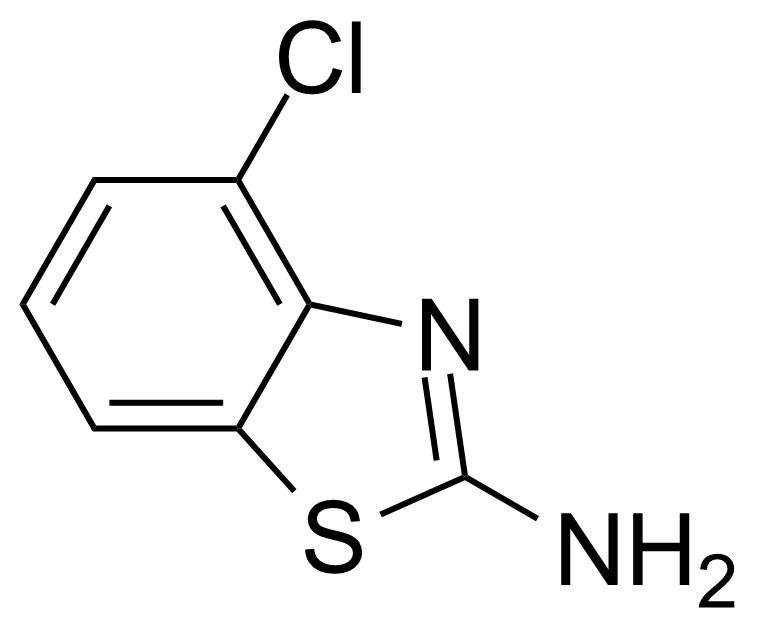 Structure of 2-Amino-4-chlorobenzothiazole