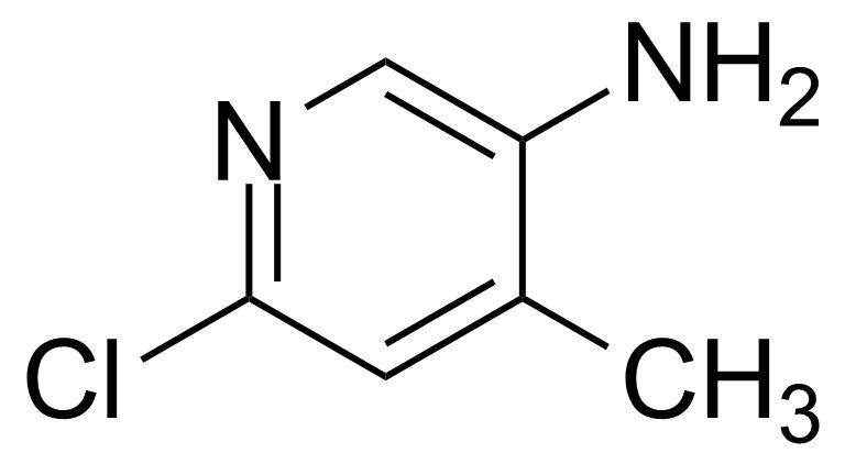 Structure of 5-Amino-2-chloro-4-methylpyridine