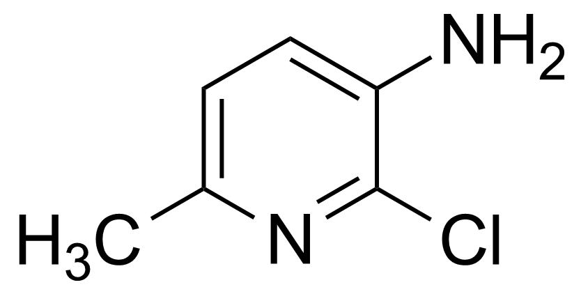 Structure of 5-Amino-6-chloro-2-picoline