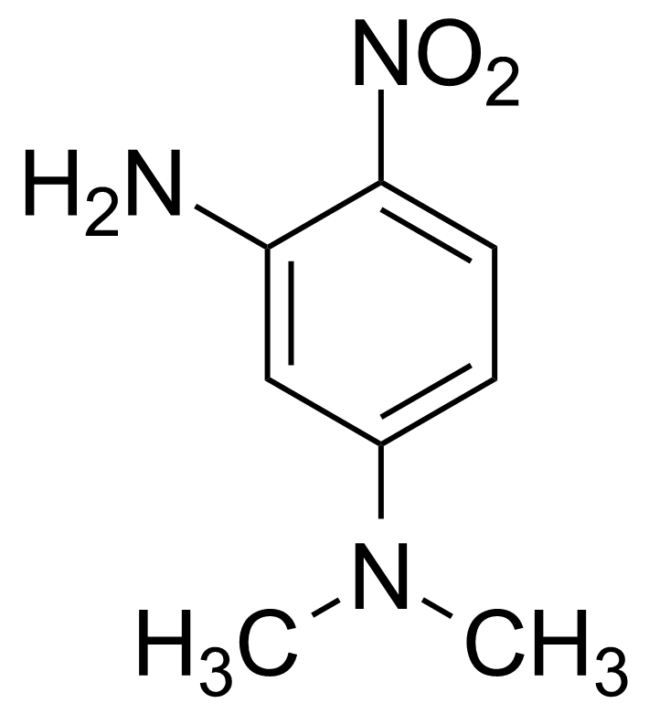 GEO-00120 Structure of 3-Amino-N,N-dimethyl-4-nitroaniline