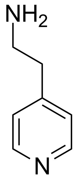 Structure of 4-(2-Aminoethyl)pyridine