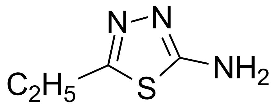 Structure of 2-Amino-5-ethyl-1,3,4-thiadiazole
