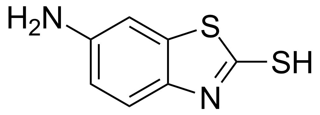 Structure of 6-Amino-2-mercaptobenzothiazole
