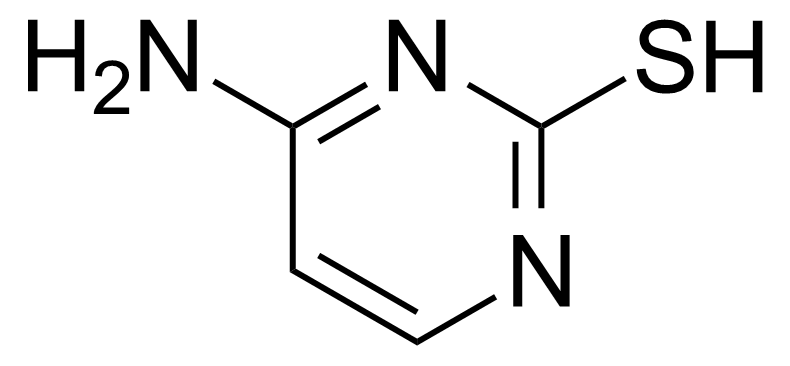Structure of 4-Amino-2-mercaptopyrimidine