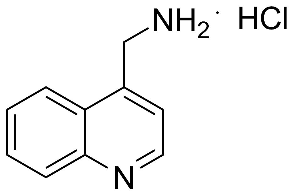 Structure of 4-Aminomethylquinoline hydrochloride