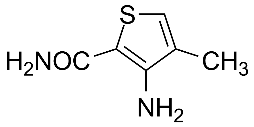 Structure of 3-Amino-4-methylthiophene-2-carboxamide