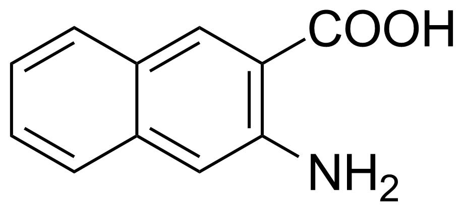 Structure of 3-Amino-2-naphthoic acid