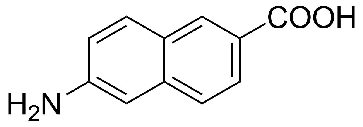 Structure of 6-Amino-2-naphthoic acid
