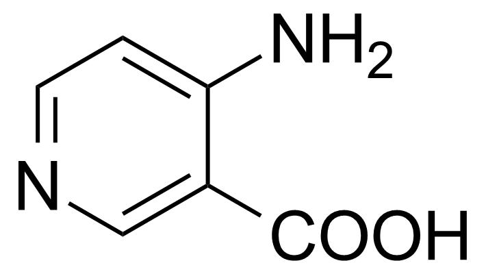 Structure of 4-Aminonicotinic acid