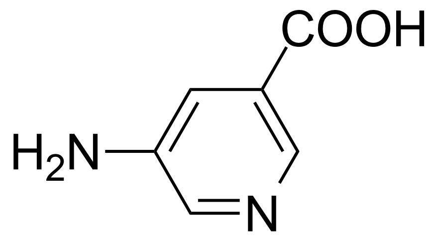 Structure of 5-Aminonicotinic acid