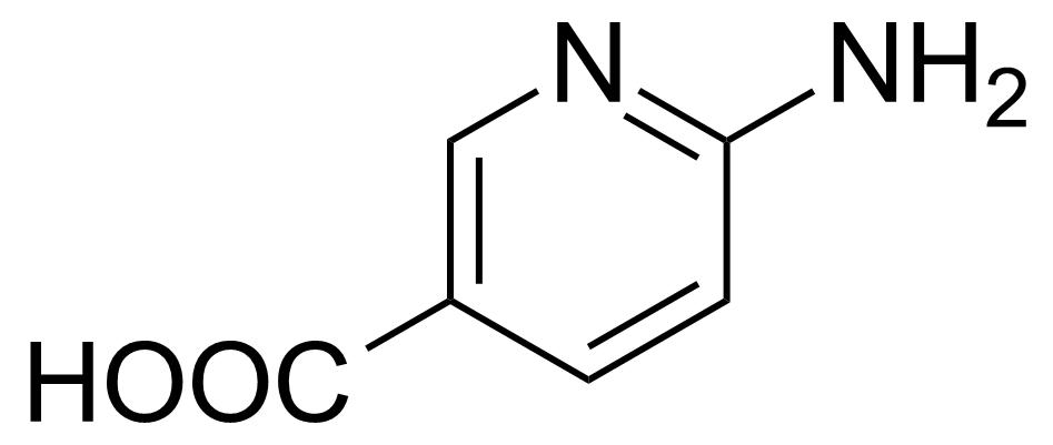 Structure of 6-Aminonicotinic acid