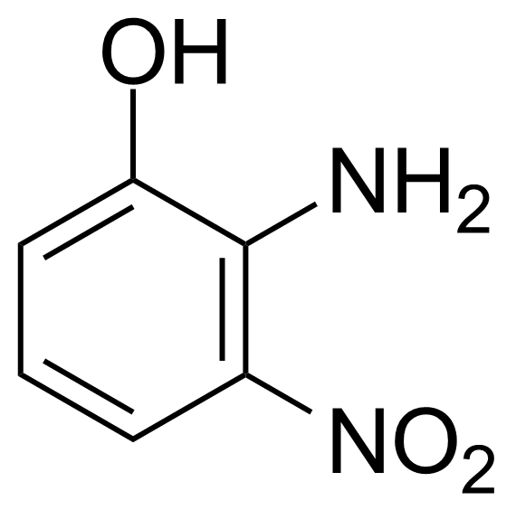 Structure of 2-Amino-3-nitrophenol
