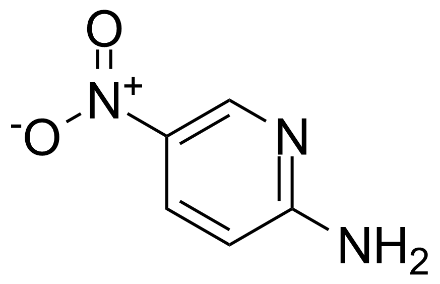 Structure of 2-Amino-5-nitropyridine