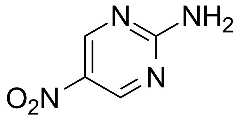 Structure of 2-Amino-5-nitropyrimidine