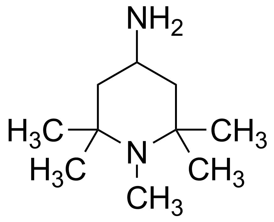 Structure of 4-Amino-1,2,2,6,6-pentamethylpiperidine