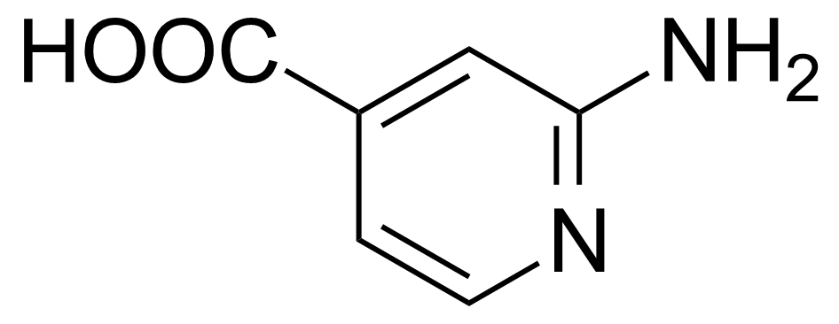 Structure of 2-Amino-4-pyridinecarboxylic acid