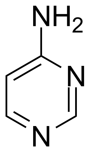 Structure of 4-Aminopyrimidine