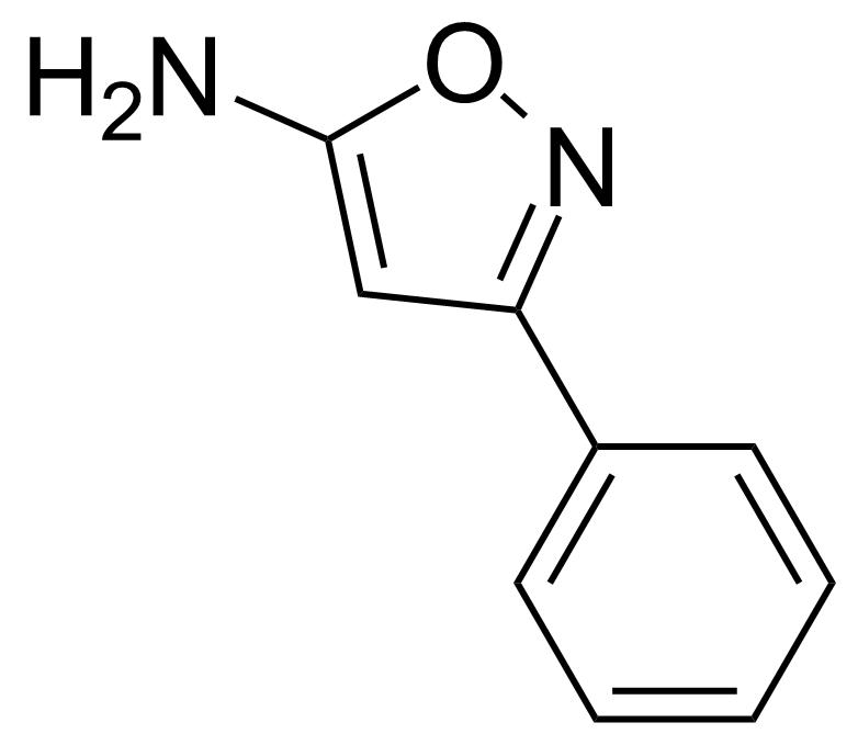 Structure of 5-Amino-3-phenylisoxazole