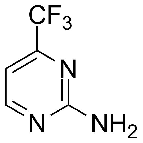 Structure of 2-Amino-4-(trifluoromethyl)pyrimidine