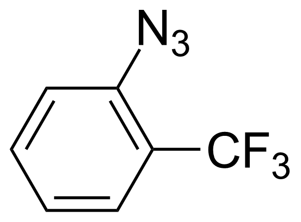Structure of 1-Azido-2-(trifluoromethyl)benzene