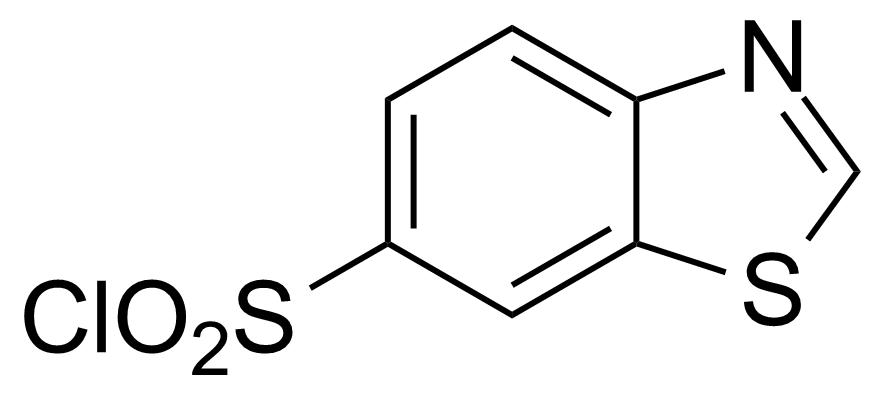 Structure of 1,3-Benzothiazole-6-sulfonyl chloride