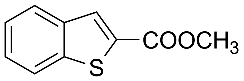 Structure of Benzo[b]thiophene-2-carboxylic acid methyl ester
