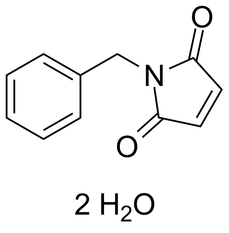 Structure of N-Benzylmaleimide dihydrate