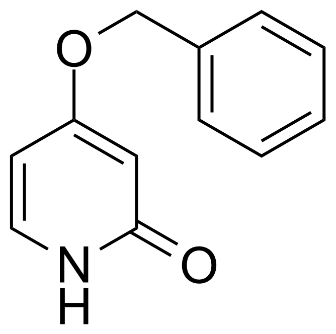 Structure of 4-Benzyloxy-2-(1H)-pyridone