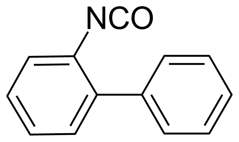 Structure of 2-Biphenylisocyanate