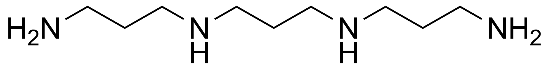 Structure of N,N'-Bis(3-aminopropyl)-1,3-propanediamine