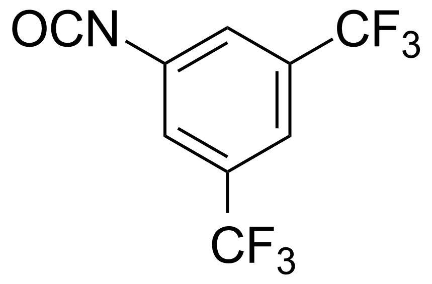 Structure of 3,5-Bis(trifluoromethyl)phenyl isocyanate