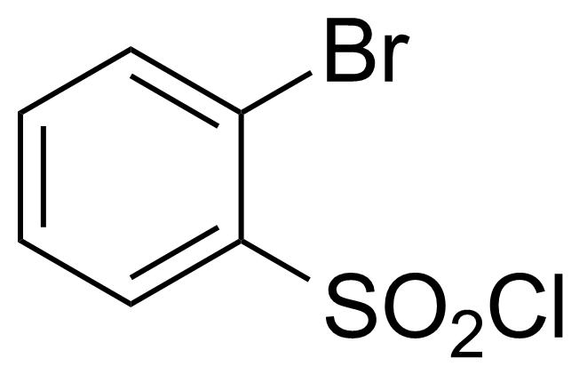 Structure of 2-Bromobenzenesulfonyl chloride