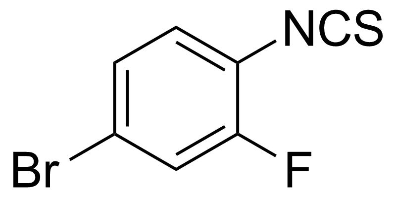 Structure of 4-Bromo-2-fluorophenylisothiocyanate