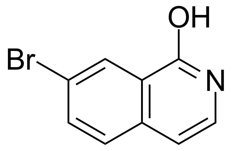 Structure of 7-Bromo-1-hydroxyisoquinoline