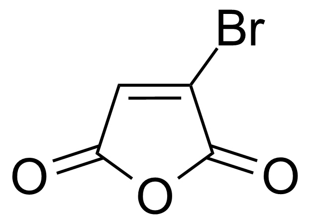 Structure of Bromomaleic anhydride