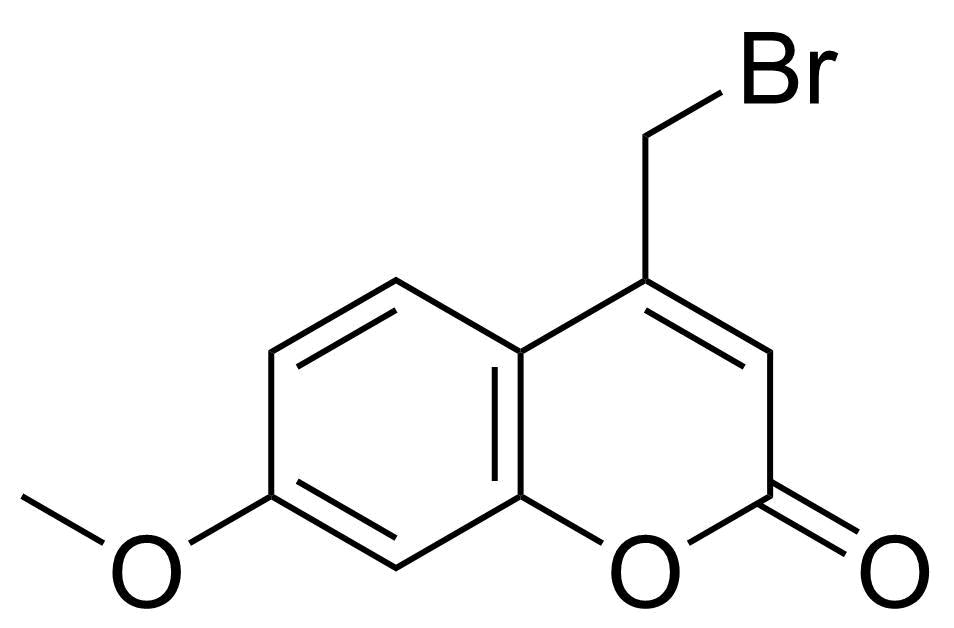 Structure of 4-(Bromomethyl)-7-methoxycoumarin