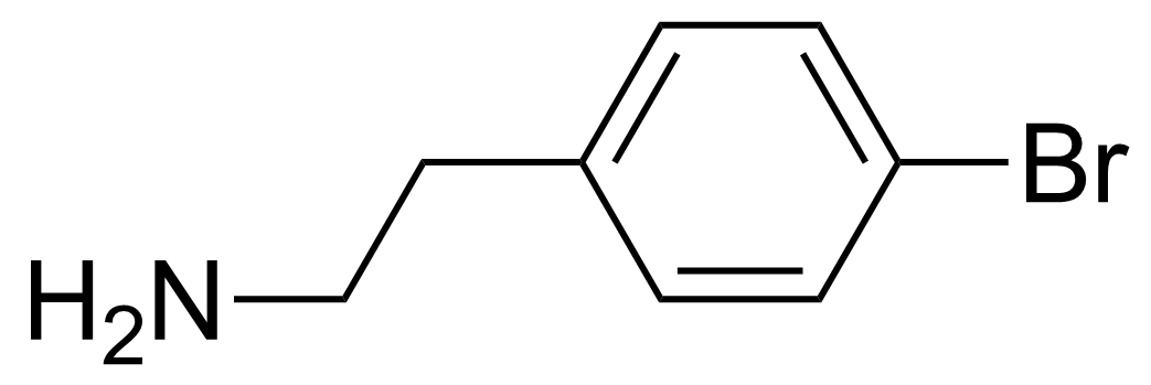 Structure of 4-Bromophenethylamine