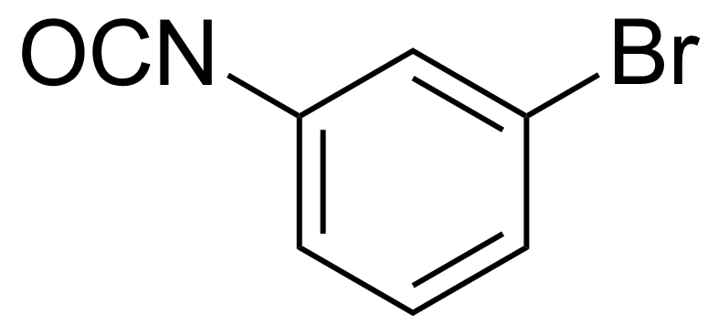 Structure of 3-Bromophenyl isocyanate