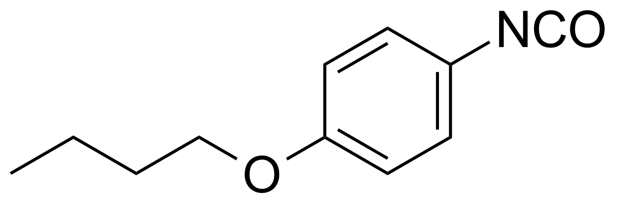 Structure of 4-n-Butoxyphenyl isocyanate