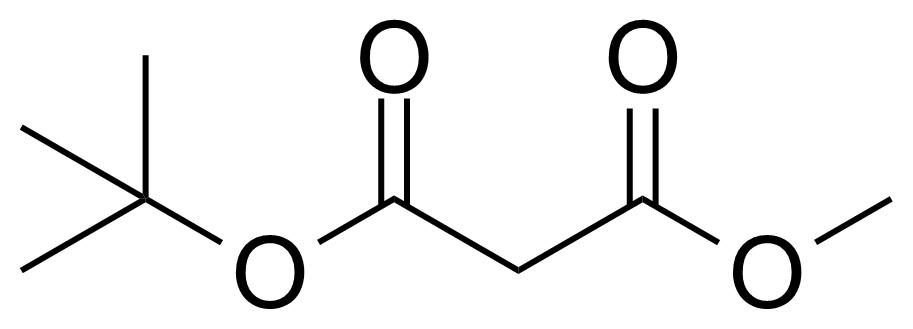 Structure of tert-Butyl methyl malonate